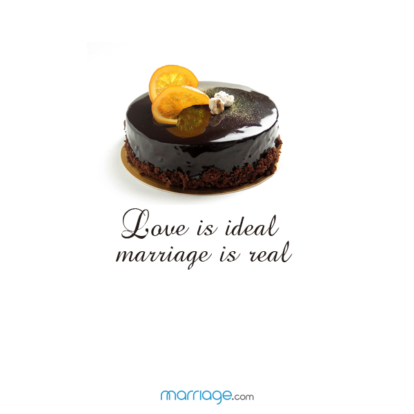 Love is ideal marriage a real