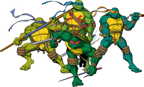 Which Ninja Turtles (TMNT) Are You?