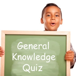General Knowledge Quiz For 8 Year Olds
