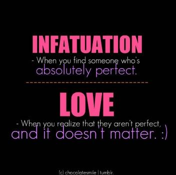 what is infatuation love