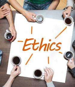 post ethics quiz D) enron 6 which is not a reason a business engages in business ethics discuss a a) to recover a company's image after a notorious business scandal b b) to avoid the loss of a good corporate image or being sued for misconduct c c) to enhance global relationships d d) to enhance stakeholder.