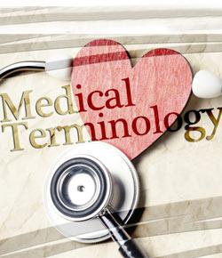 What is the orgin of medical terminology?
