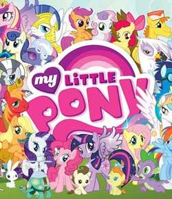 which mlp:FIM background my little pony?
