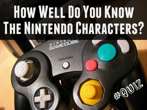 How Well Do You Know The Nintendo Characters?