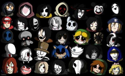 Which Creepypasta Character Are You?