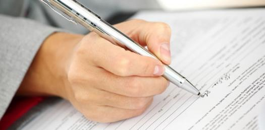 How can I remove hand writing from an essay?