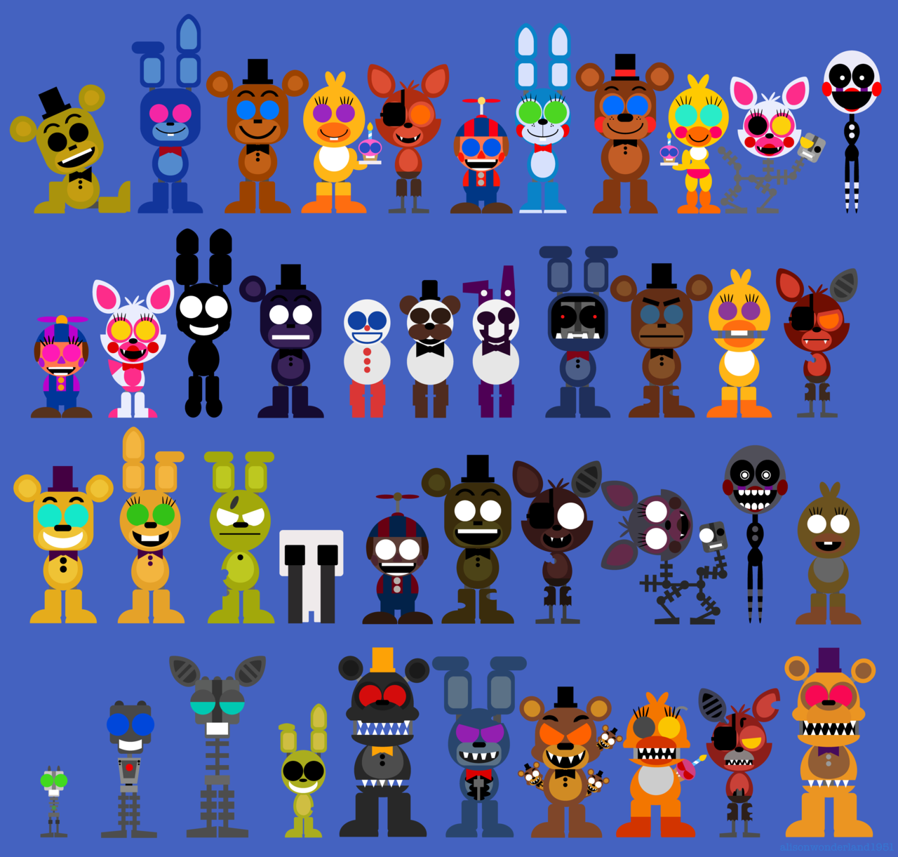 FNAF puzzle thing