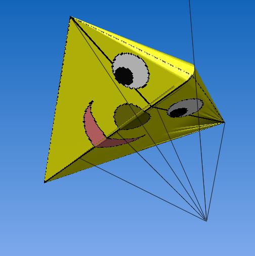 Kite-puzzle