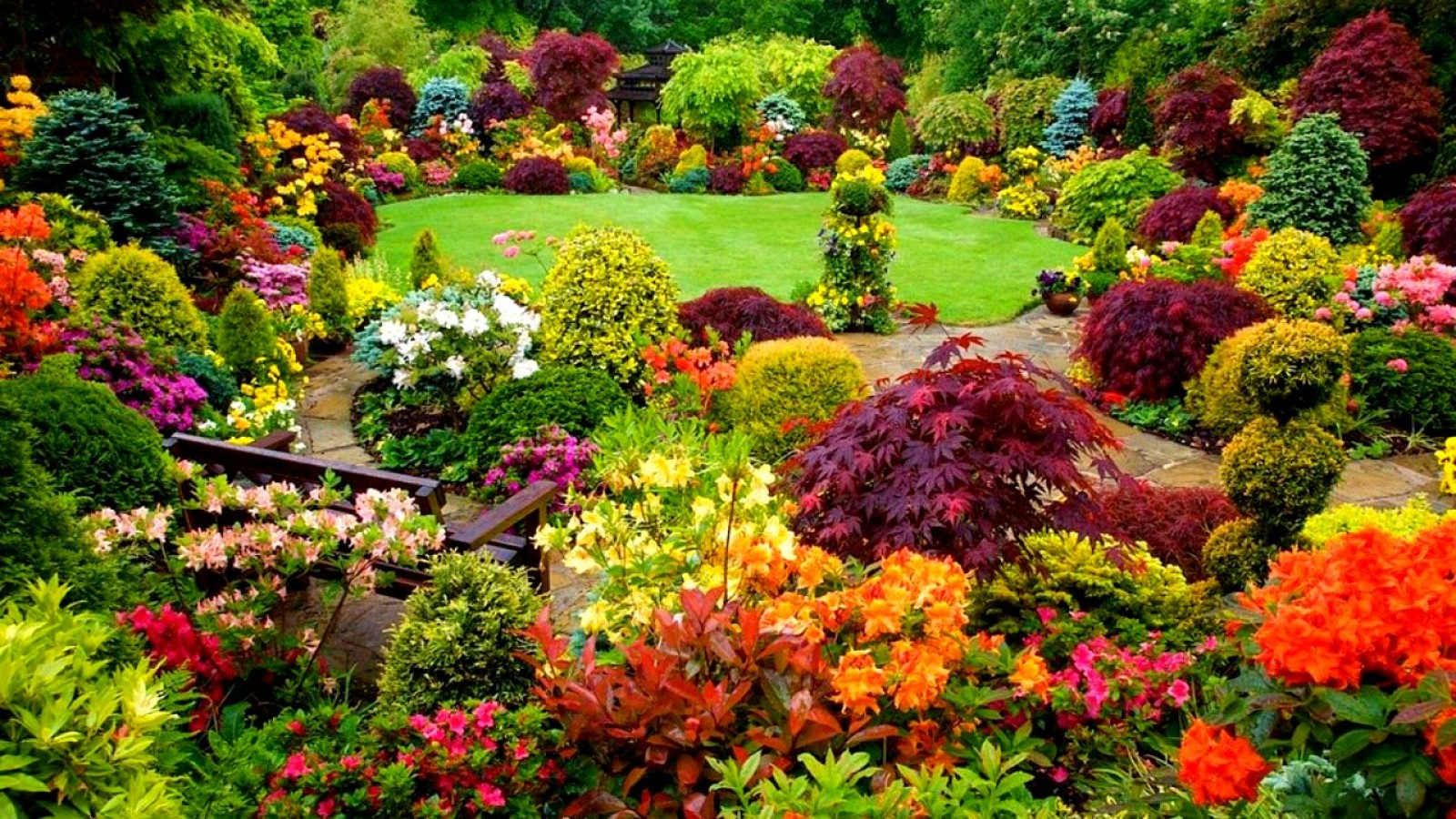 Garden jigsaw puzzles proprofs jigsaw puzzle games for Landscape flowers and plants