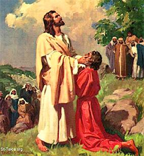 Jesus Heals a Deaf Man