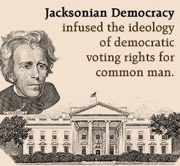 4 components from jacksonian democracy essay