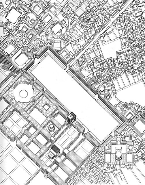 form of the city flashcards by proprofs Wells Cathedral isfahan maydan i shah aerial reconstruction 1590 1602