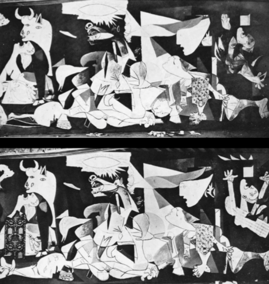 guernicas history essay Guernica photo by: wikipedia creative commons artist pablo picasso year 1937 medium oil on canvas location museo reina sofia, madrid dimensions 1374 in × 3055 in 349 cm × 776 cm guernica.