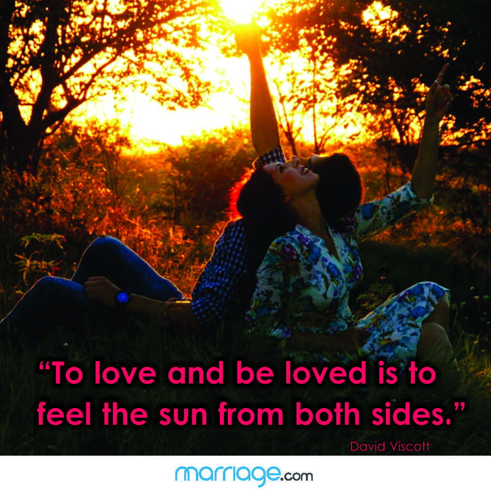 ""\""""To love and be loved is to feel the sun from both sides."""" David Viscott""1000|999|?|en|2|483b69f8dc212c36d8b51389ca4e04b4|False|UNLIKELY|0.28128883242607117