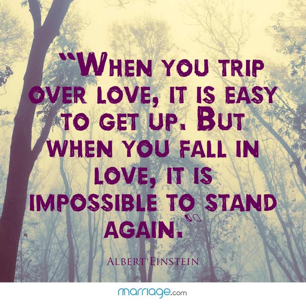Quotes When A Relationship Is Over: When You Trip Over Love, It Is Easy To Get...