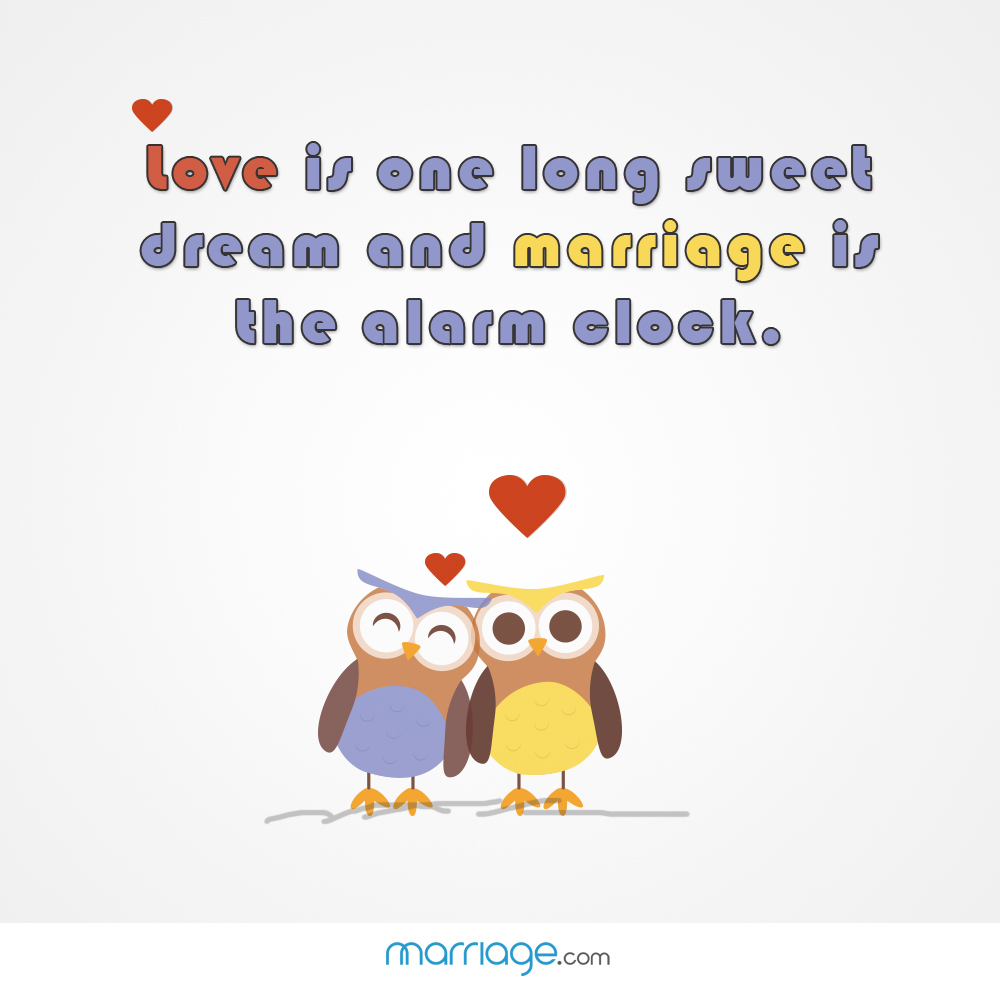 Love Is One Long Sweet Dream And...