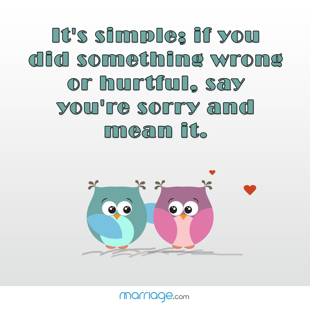 It's Simple; If You Did Something