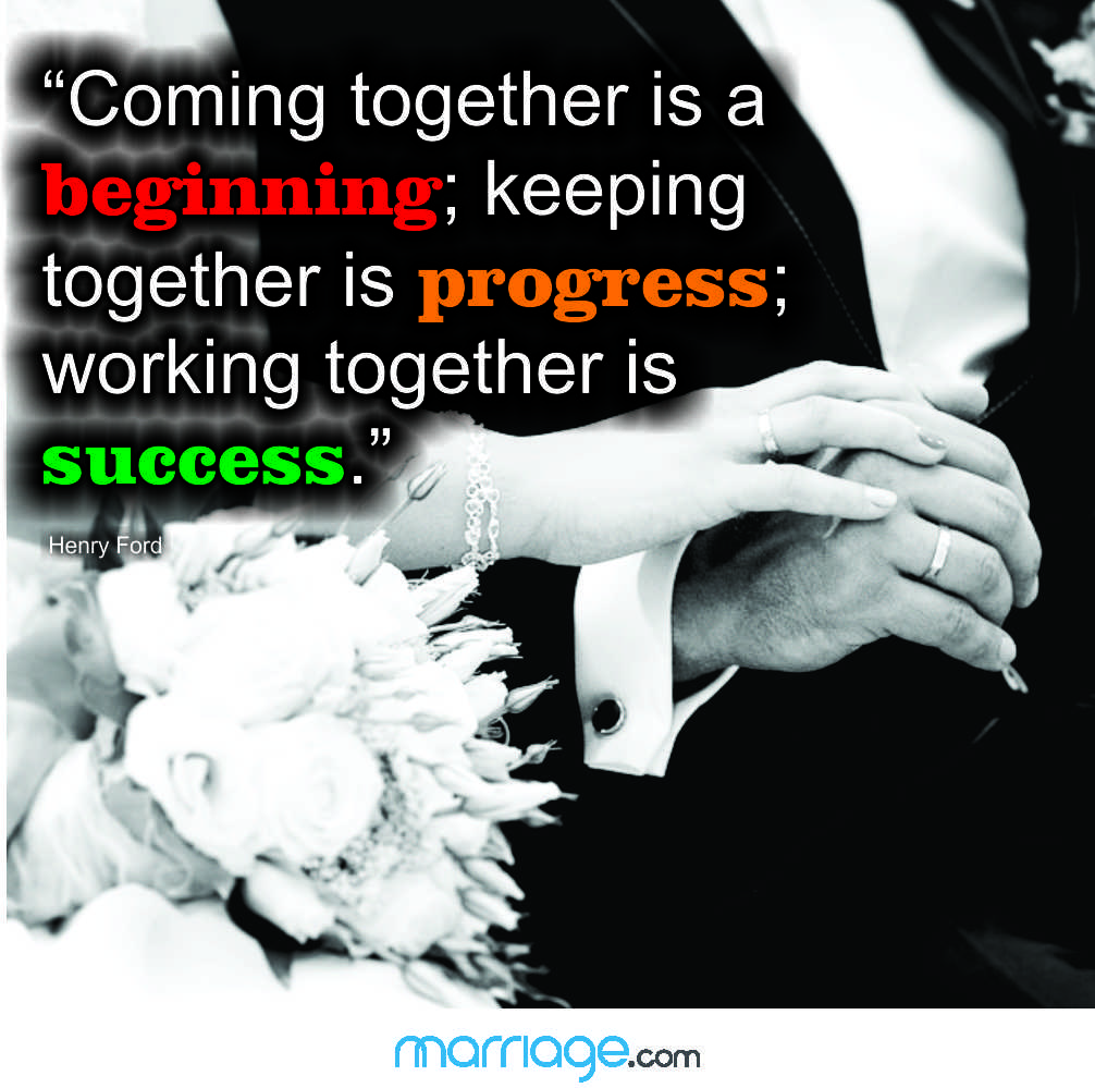 Quotes About Families Coming Together: Coming Together Is A Beginning;...