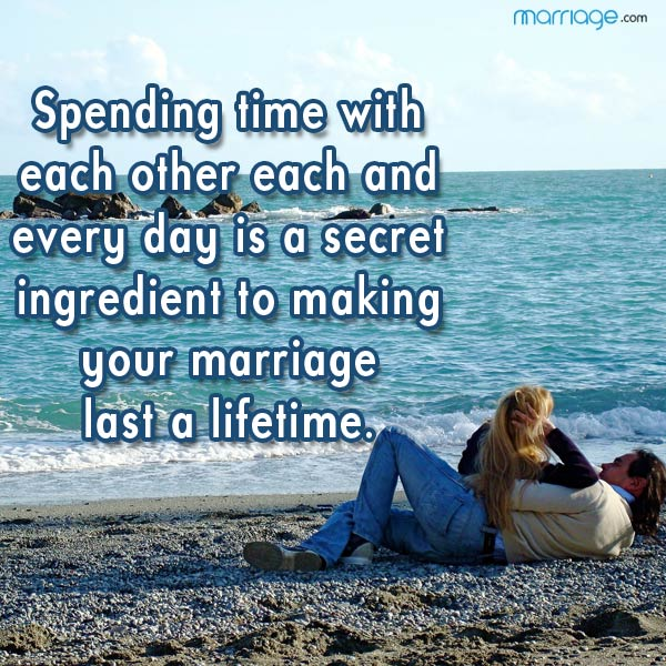 Spending Time With Each Other Each And