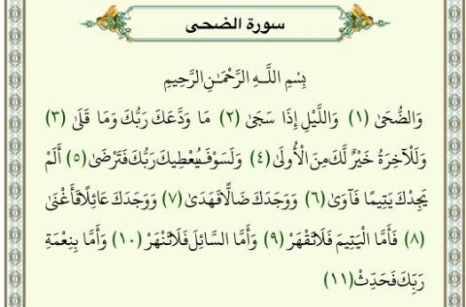 Velicham Quran Dars - Quiz 24 (Ad-Dhuha)