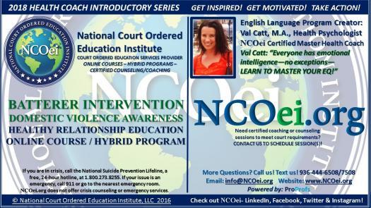 NCOei.org $10 For 2Hrs ADULT BATTERER INTERVENTION DOMESTIC VIOLENCE ...