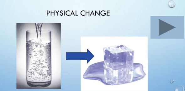 What is an example of physical change? - ProProfs Discuss