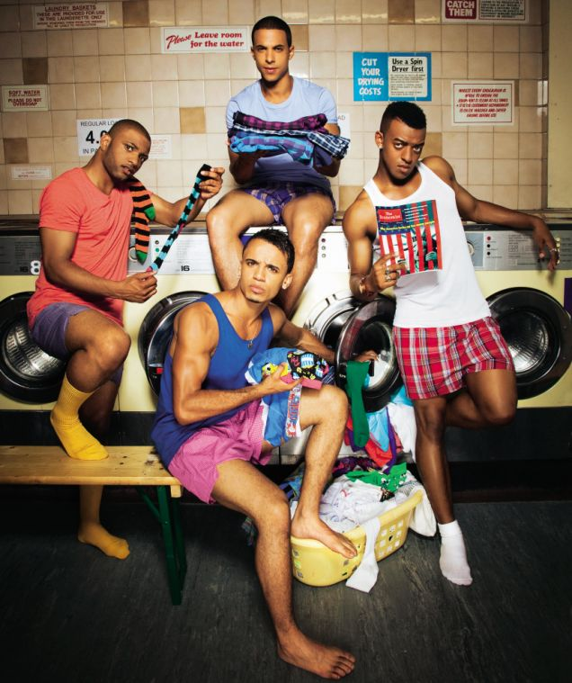 Jls In Undies!